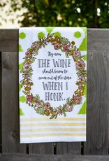 love&fig The Wine Should Know Tea Towel