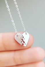 SHINElife Brokenhearted Necklace - Silver