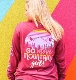 Jadelynn Brooke Move Mountains Long Sleeved Tee