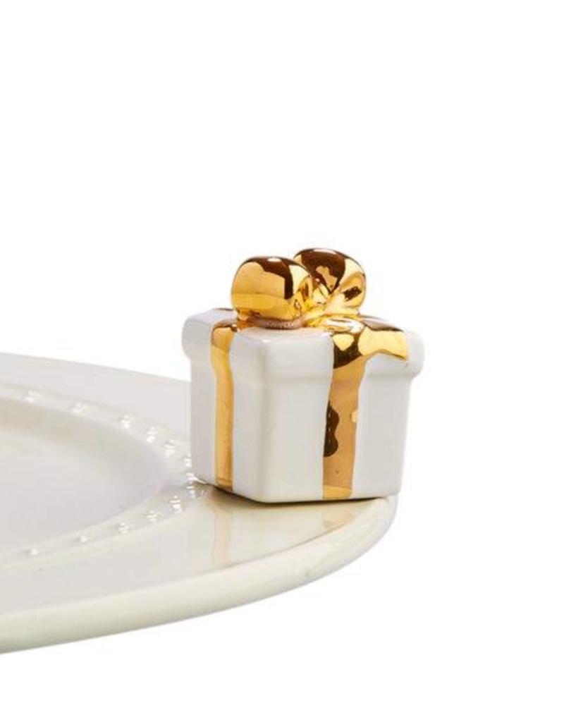 nora fleming White Gift Mini A185