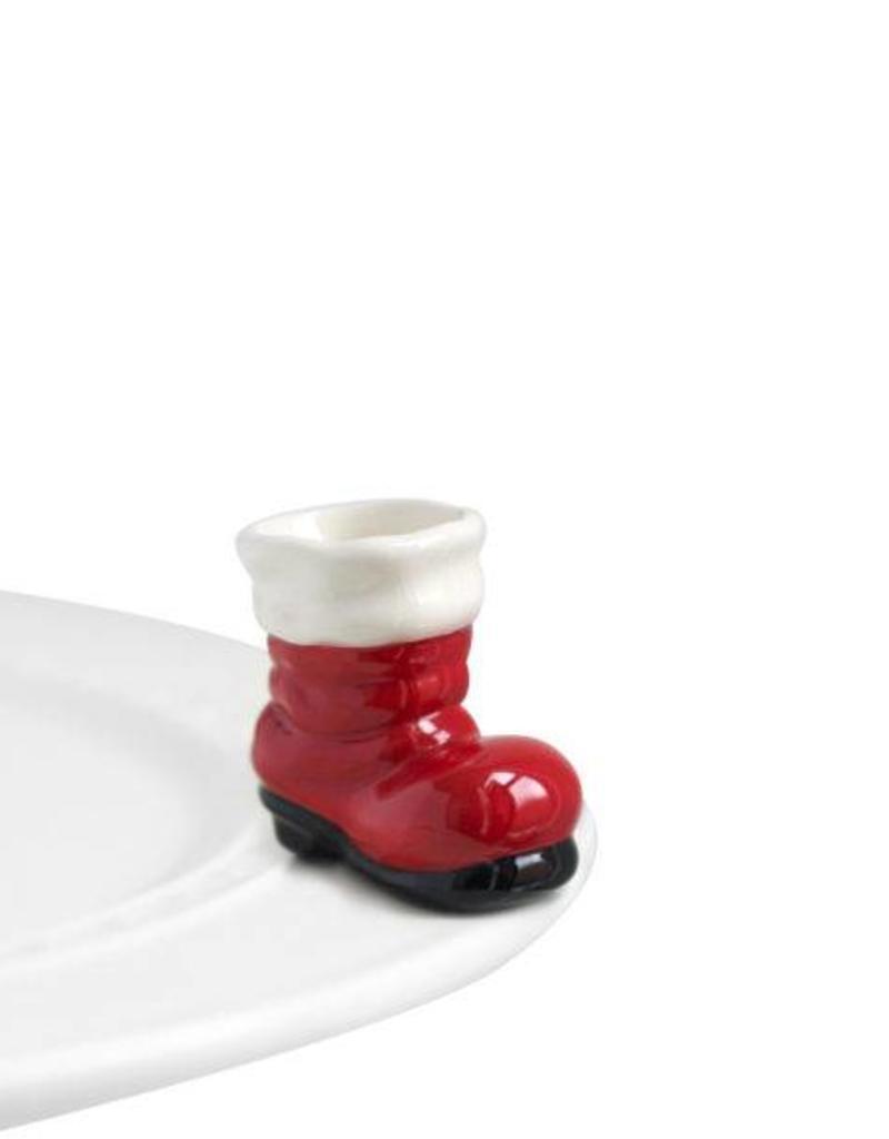 nora fleming A89 Santa Boot Mini