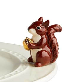 nora fleming A215 Squirrel Mini