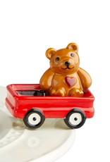 nora fleming St Jude's Bear Mini A220