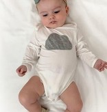 Long sleeve Bamboo Embroidery Onesie