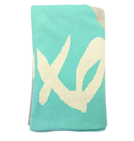 Organic Cotton Knit Reversible Blanket