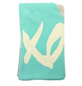Organic Cotton Knit Reversible Blanket