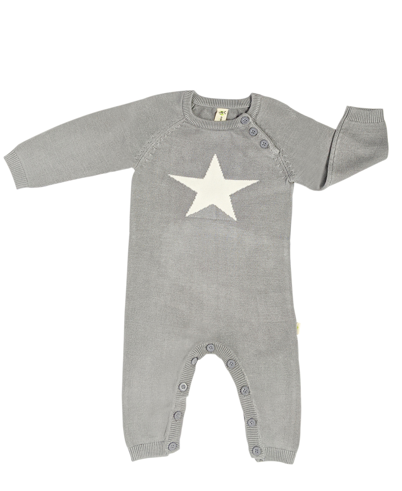 Knit Bamboo Star Rompers
