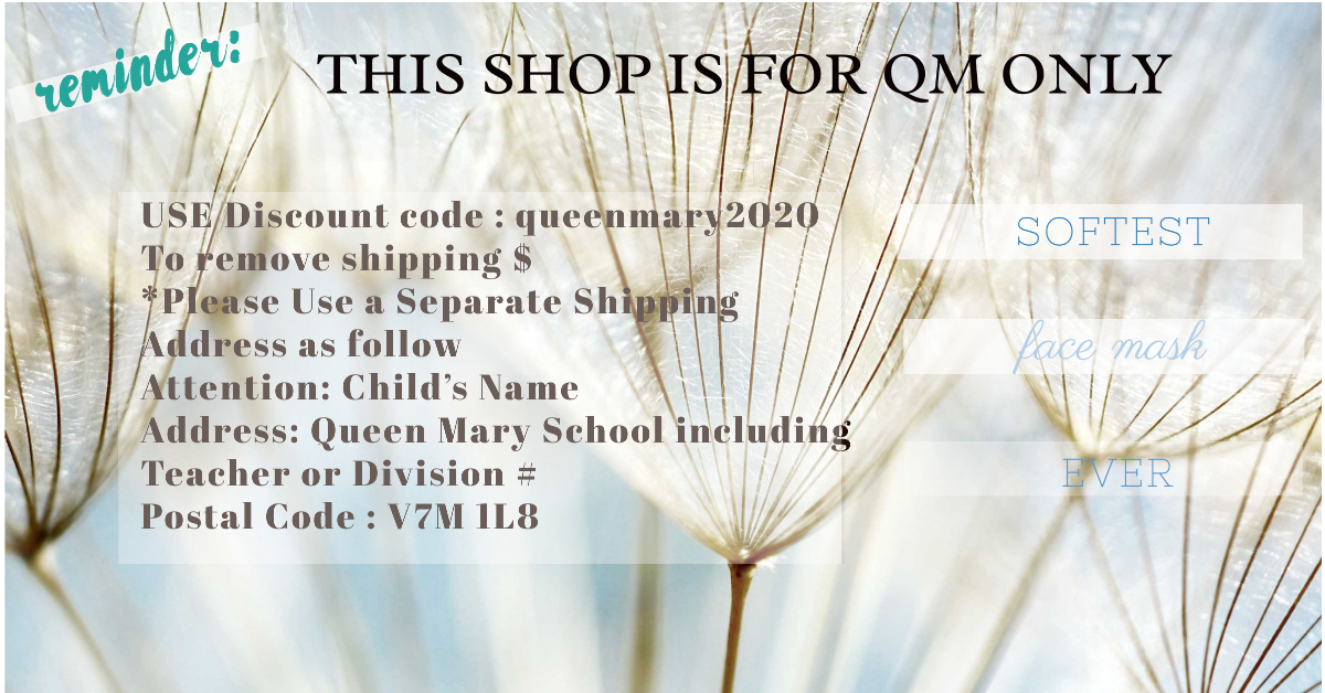 Queen Mary Shop Reminder
