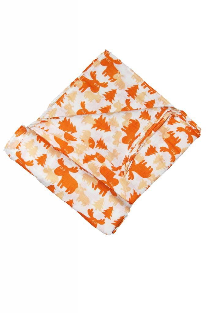 Organic Cotton Muslin Swaddle Blankets