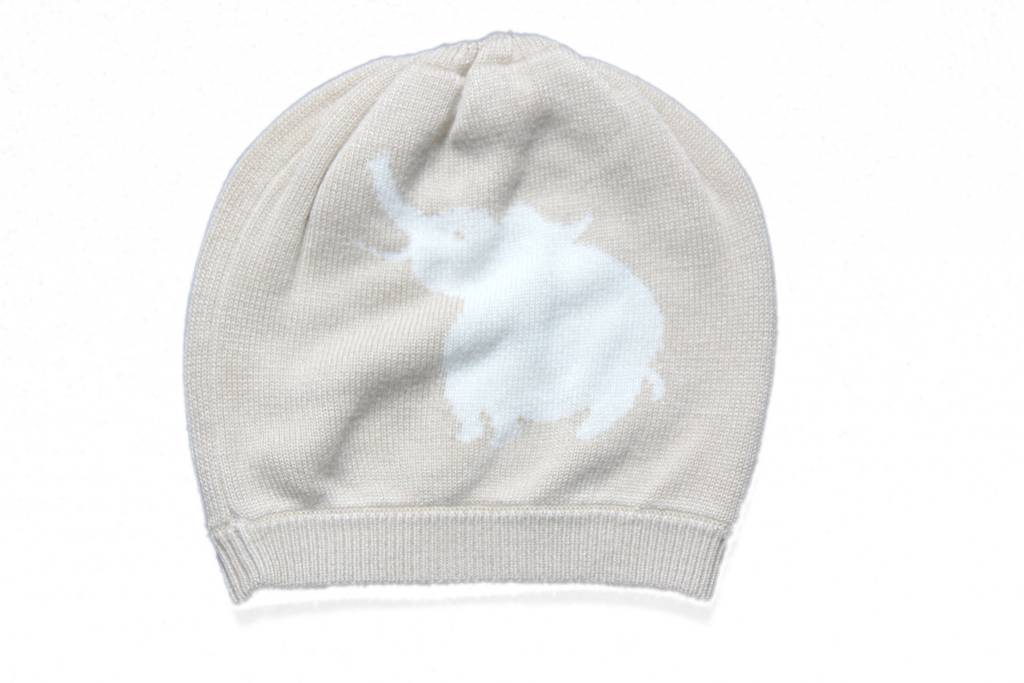 Knit Bamboo Animal Beanie