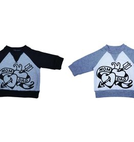 Organic Cotton Tattoo Graphic Sweatshirt