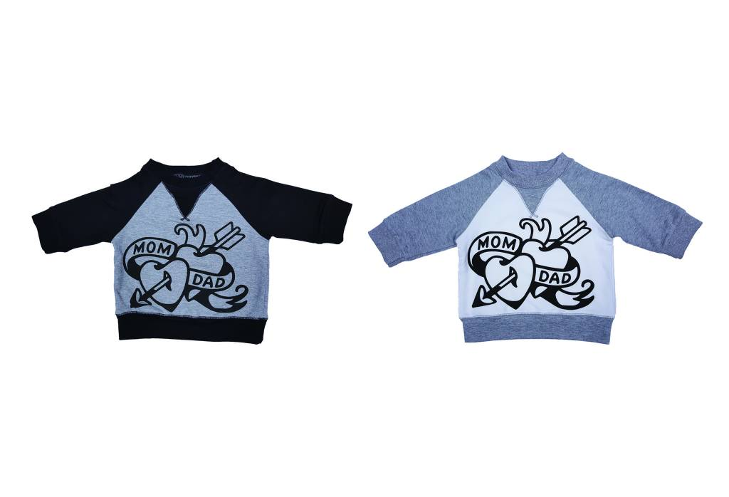 Organic Cotton Tattoo Graphic Sweatshirt