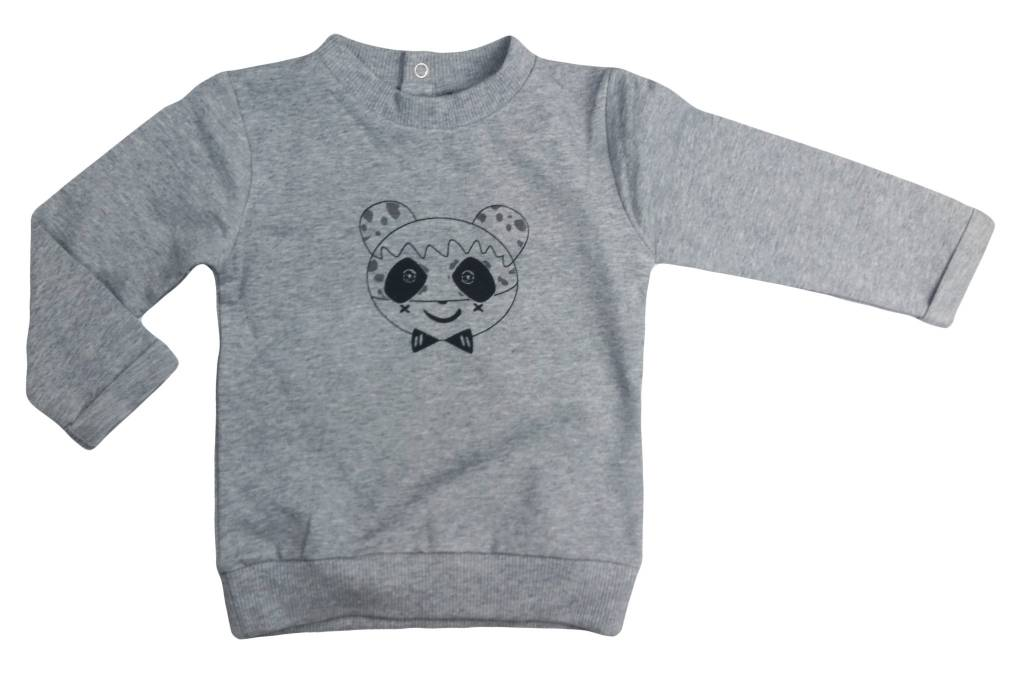 Organic Cotton Long Sleeve Pullover
