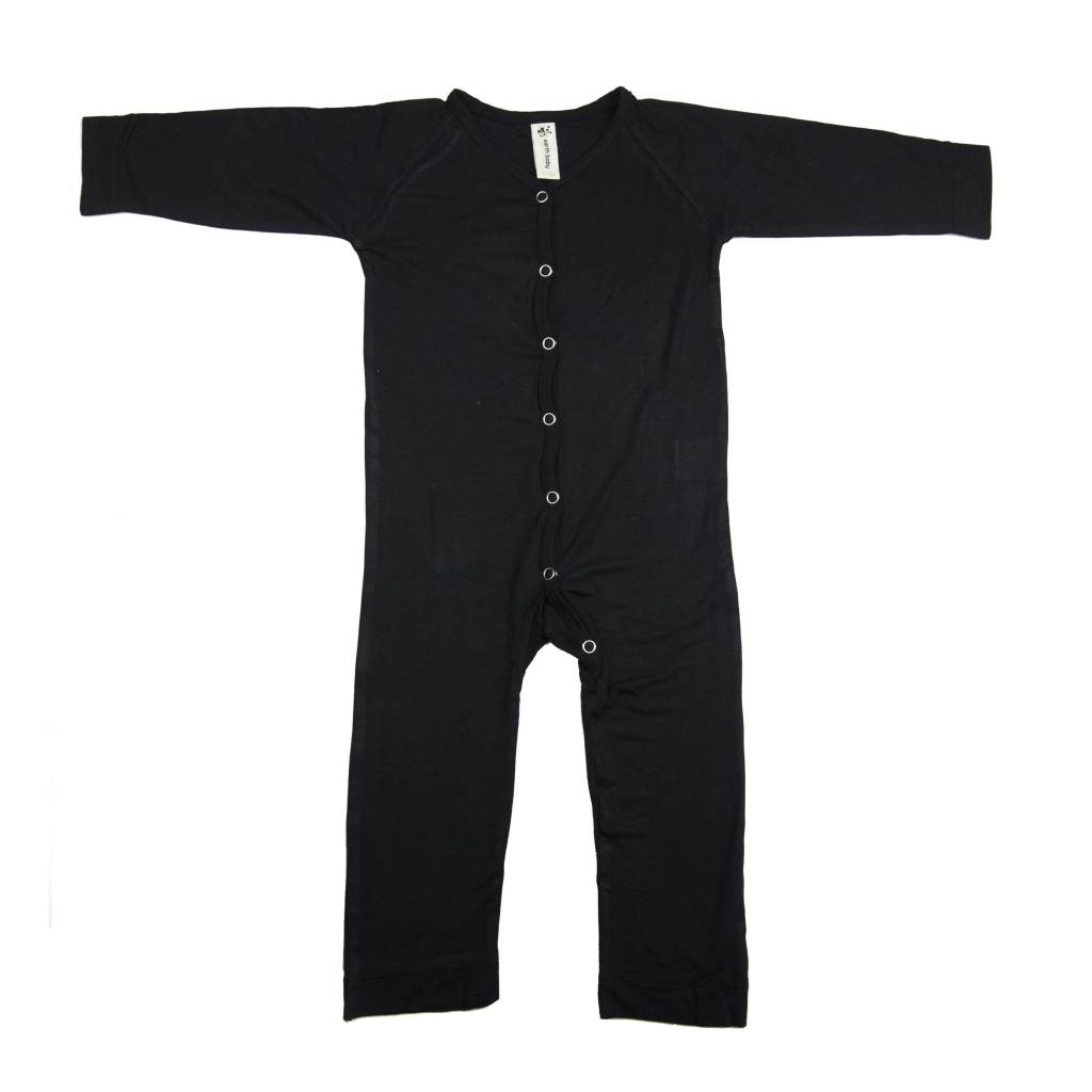 Bamboo V-neck long sleeve Coverall