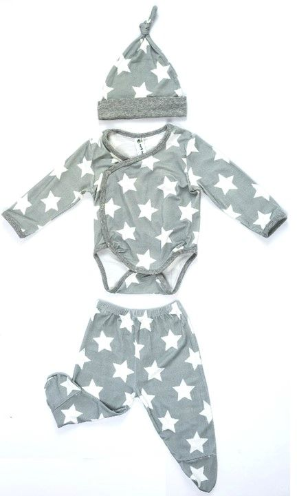 Bamboo 3pc newborn set