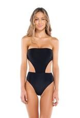 Vix Swimwear Solid Maite One Piece