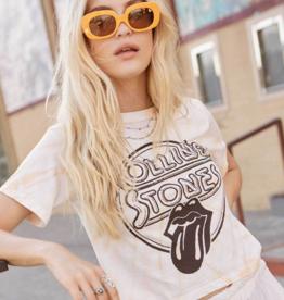 Daydreamer Rolling Stones Crop Tee