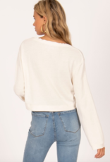 Amuse Society Coconut Grove Cropped Knit