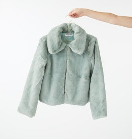Charlie Holiday Sundays Faux Fur Jacket