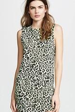 LNA Clothing Leopard Muscle Tank Dress