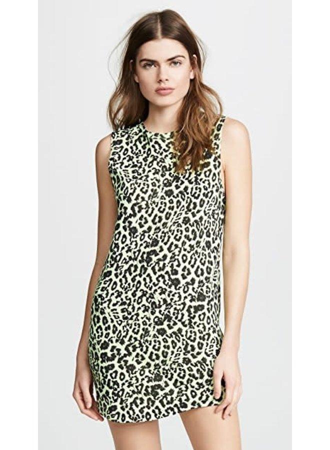Leopard Muscle Tank Dress