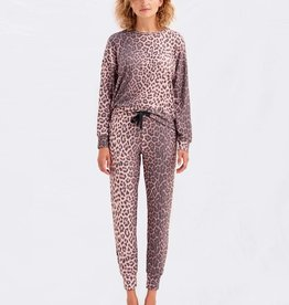 Sundry Animal Print Sweater