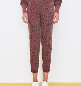 Sundry Leopard Cuff Sweatpant