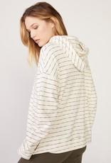 Monrow Stripe Oversized Hoody