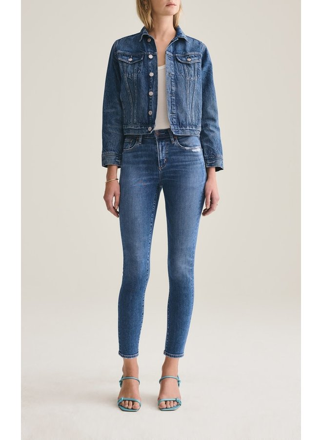 Sophie Mid Rise Ankle Jean