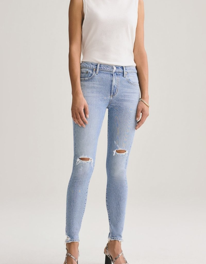 Agolde Sophie Mid Rise Ankle Jean