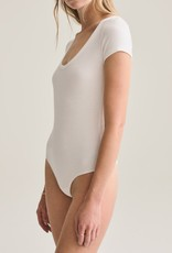 Agolde Short Sleeve Rib Body Suit