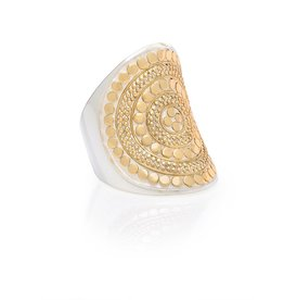 Anna Beck Classic Saddle Ring Size 7