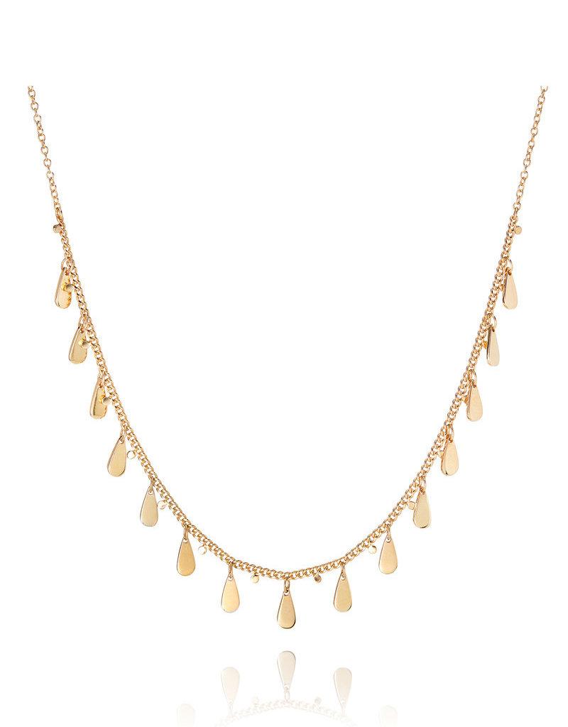 Anna Beck Drop Charms Choker Necklace