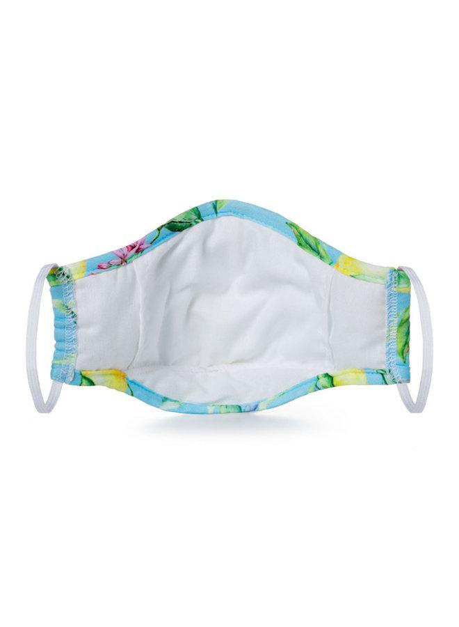 White Camo Face Covering