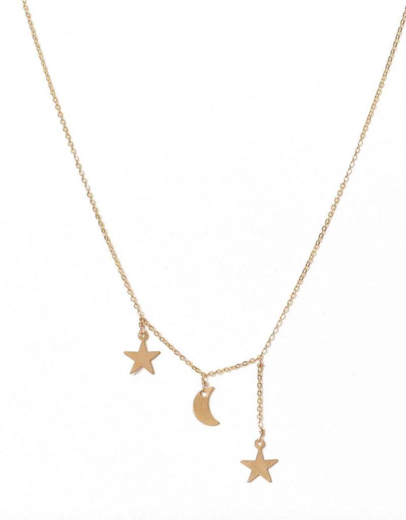 Filante Necklace Gold