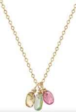 Baya Rainbow Necklace Gold
