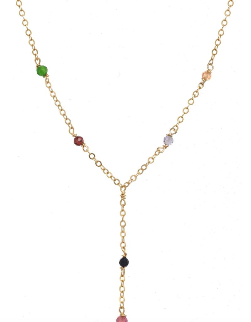 Safron Necklace Gold