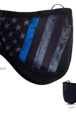 Blue Line Flag Face Covering