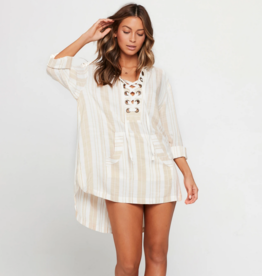 L*Space Swim Lover Letters Tunic