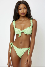 Frankies Bikinis Colby Eyelet Bottom Mint