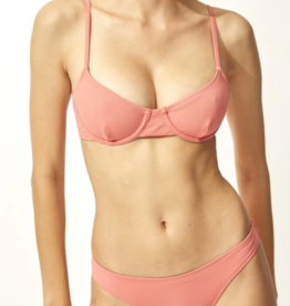 Solid and Striped The Eva Top Dusty Rose Rib