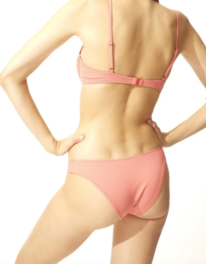 Solid and Striped The Eva Bottom Dusty Rose Rib