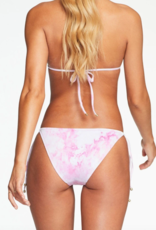 Vitamin A Elle Tie Side Bottom Magenta Tie Dye