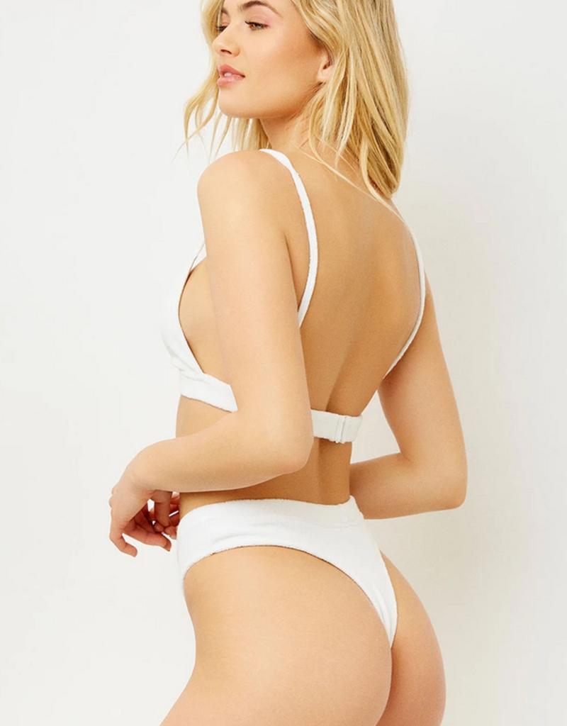 Frankies Bikinis Claire Top White