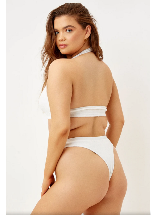 Claire Bottom White
