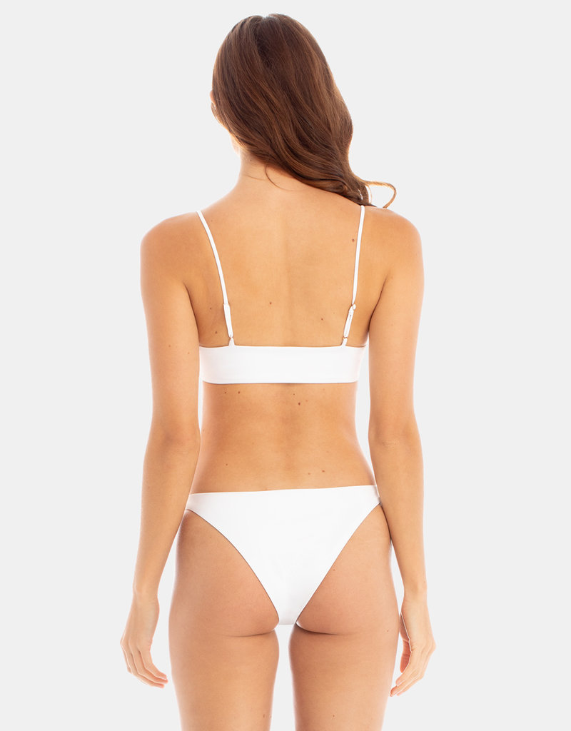 Ricci Swim Bottom White