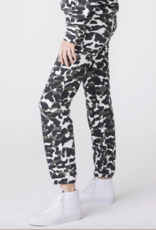 Monrow Animal Print Vintage Sweats