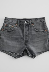 Levi Strauss 501 Short Grey Lady