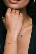 Kris Nations Love Bracelet Gold