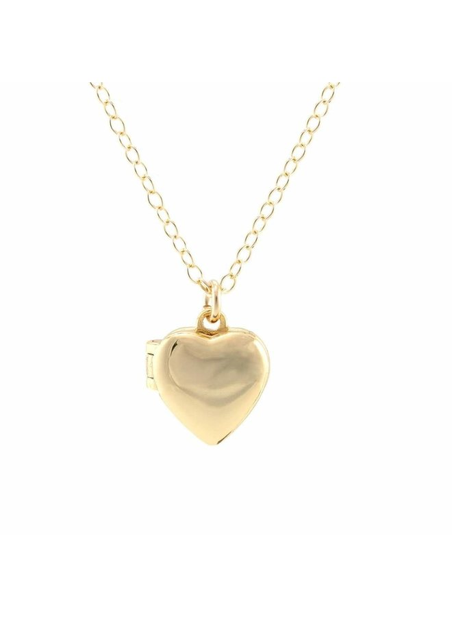 Heart Locket Gold
